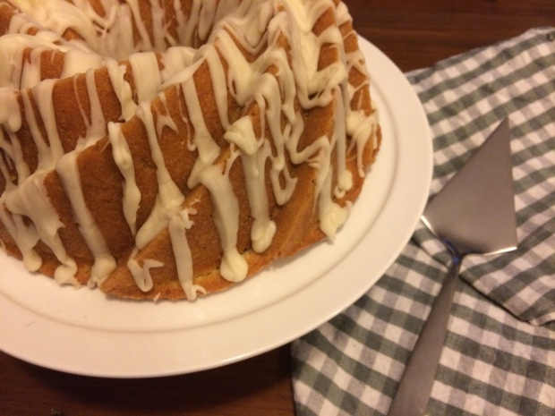 spiced citrus bundt cake with buttered whiskey glaze | Brooklyn Homemaker