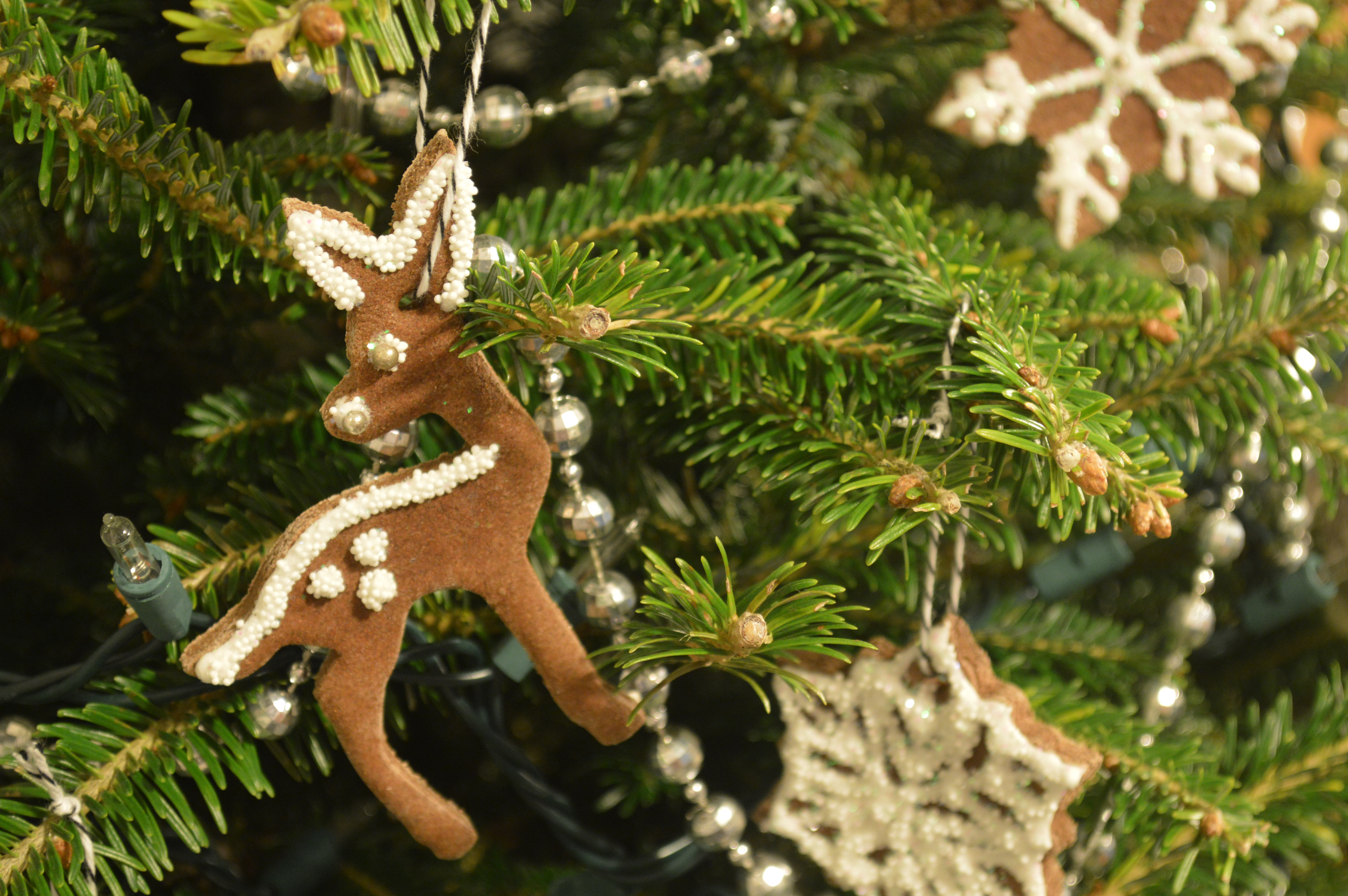 Gingerbread Salt Dough Ornaments Brooklyn Homemaker - 9 diy white clay christmas ornaments to try