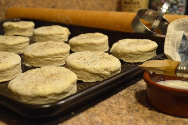 flaky salt & pepper buttermilk biscuits | Brooklyn Homemaker