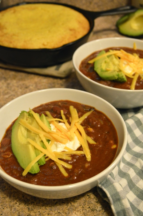 best chunky beef chili | Brooklyn Homemaker