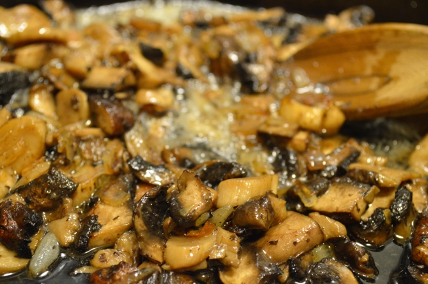 fettuccine with roasted mushrooms, brown butter & sage | Brooklyn Homemaker
