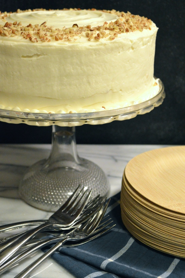 harvest cake with cream cheese icing | Brooklyn Homemaker