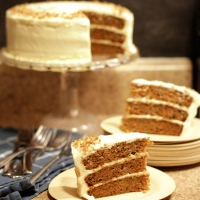 Harvest Cake with Cream Cheese Icing