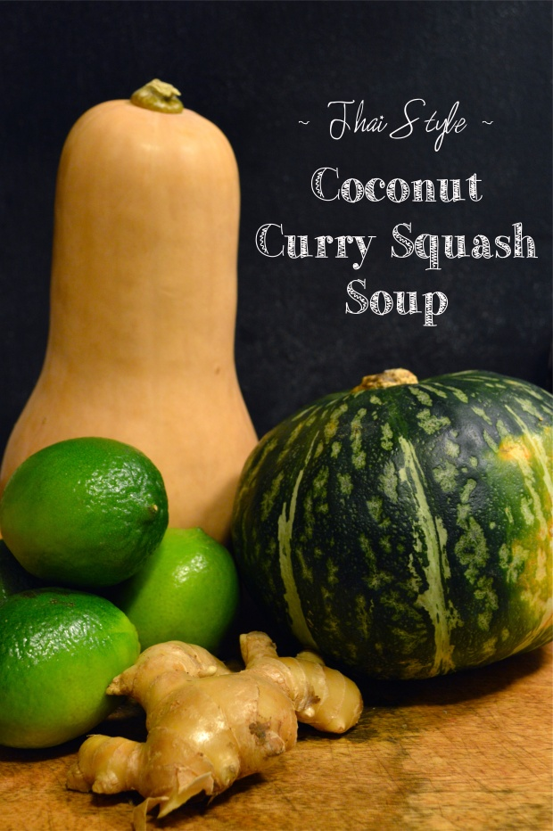coconut curry squash soup | Brooklyn Homemaker