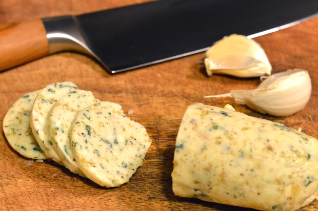 garlic & herb compound butter | Brooklyn Homemaker