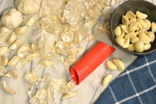garlic press testing | Brooklyn Homemaker