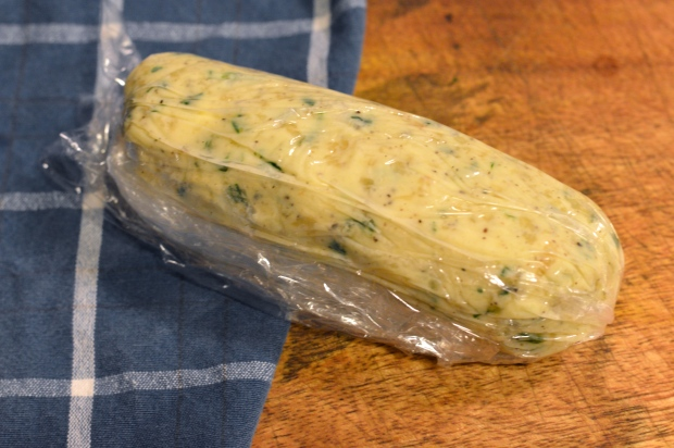 garlic herb compound butter | Brooklyn Homemaker
