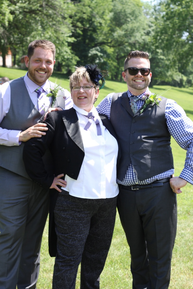 Tuxedo & Russell's Hudson Valley June Wedding | marriage equality | Brooklyn Homemaker