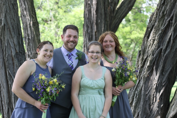 rustic grey and green wedding | Tuxedo & Russell's Hudson Valley June Wedding | Brooklyn Homemaker
