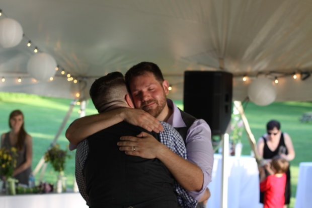 first dance at same sex wedding | Tuxedo & Russell's Hudson Valley June Wedding | Brooklyn Homemaker