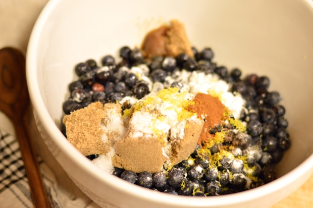 cornmeal topped blueberry cobbler | Brooklyn Homemaker