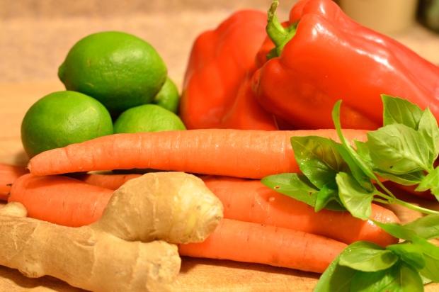 thai coconut green curry chicken thighs | Brooklyn Homemaker