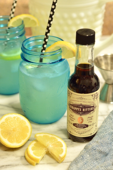 spiked lavender lemonade & a scrappy's bitters giveaway | Brooklyn Homemaker