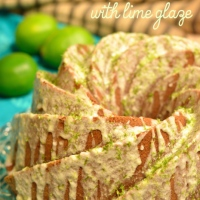 hibiscus lime bundt cake  #bundtbakers