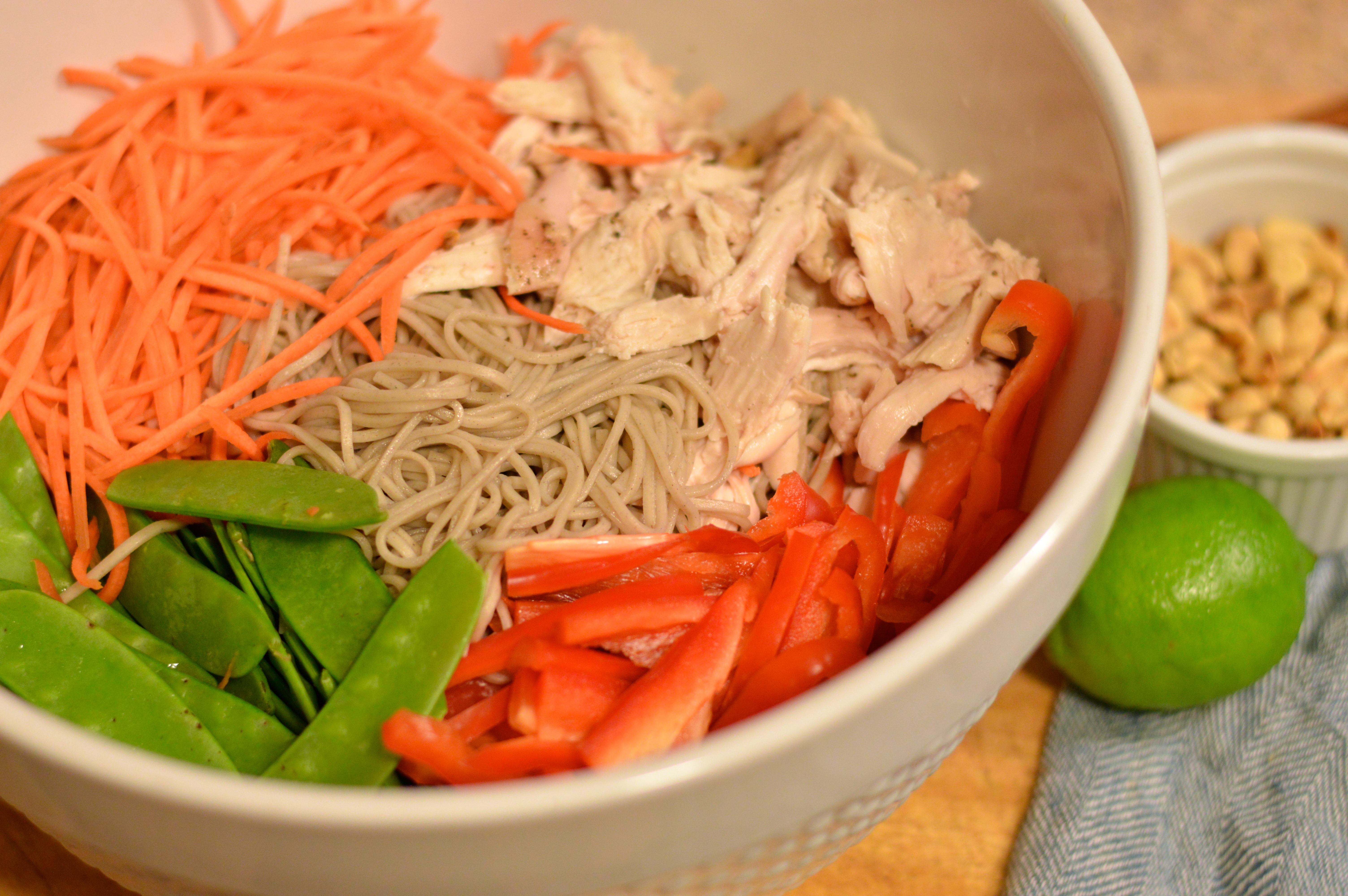 soba noodle salad with chicken | Brooklyn Homemaker