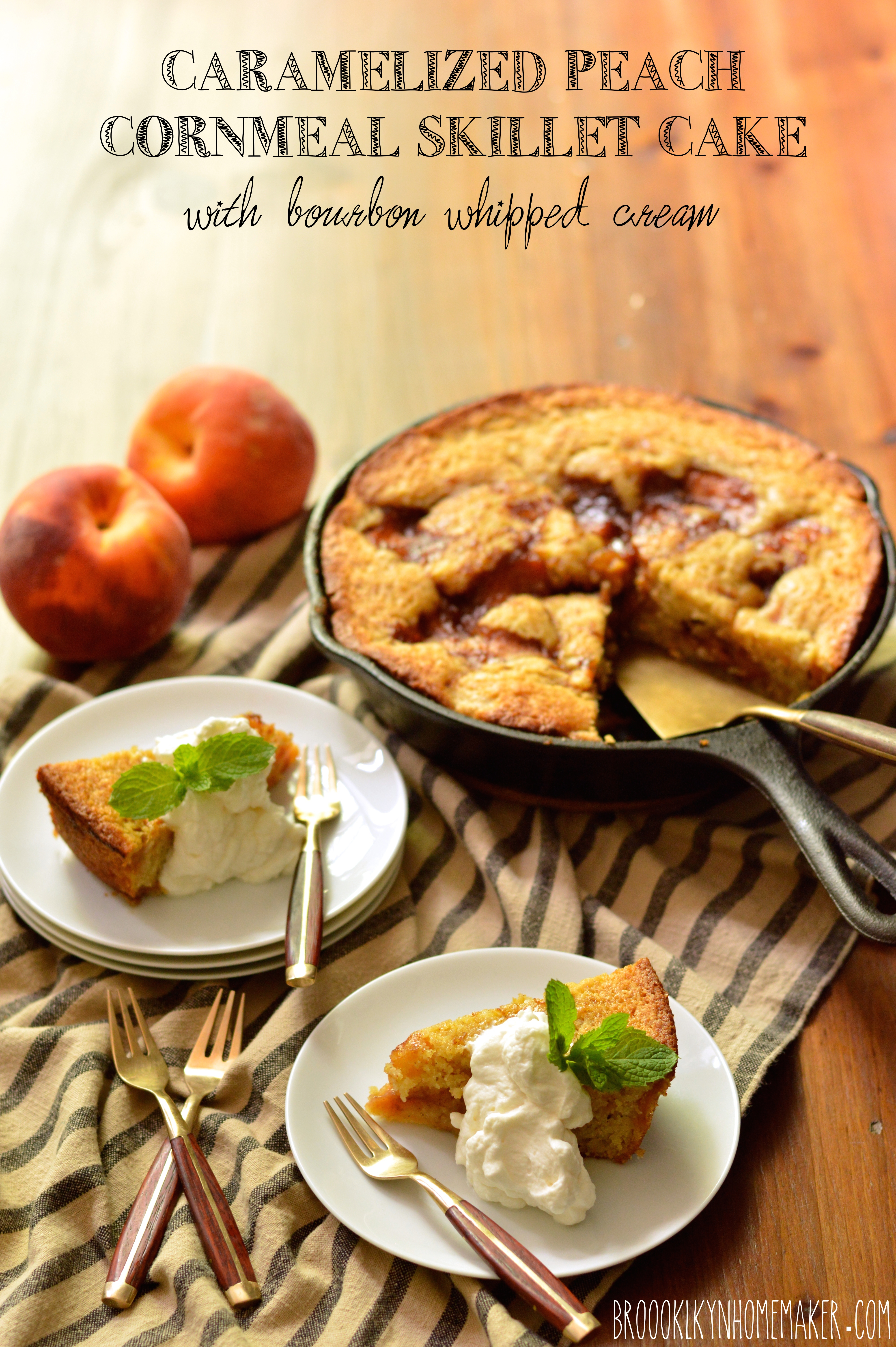 walnut cornmeal cake recipe yummly bourbon walnut cornmeal cake ...