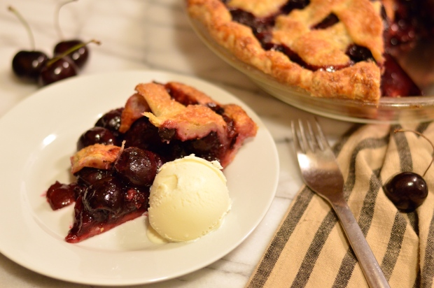 sweet cherry pie | Brooklyn Homemaker