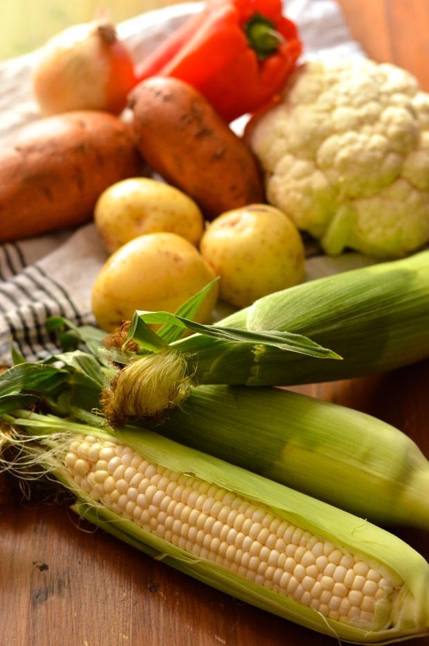 vegan sweet corn chowder | Brooklyn Homemaker