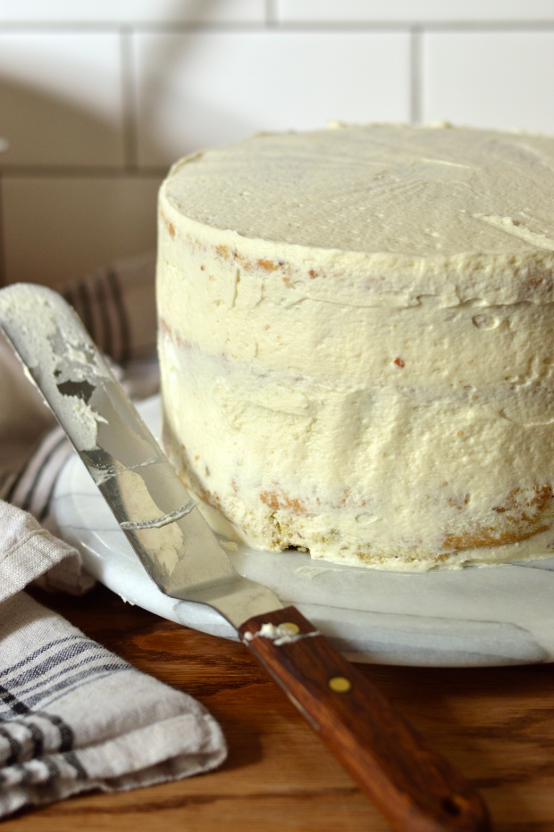 aunt sassy cake   pistachio layer cake with honey buttercream   Brooklyn Homemaker