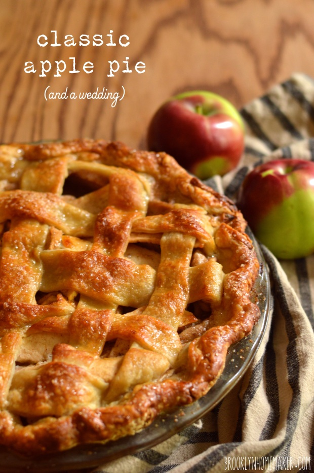 classic apple pie & a rustic fall wedding   Brooklyn Homemaker