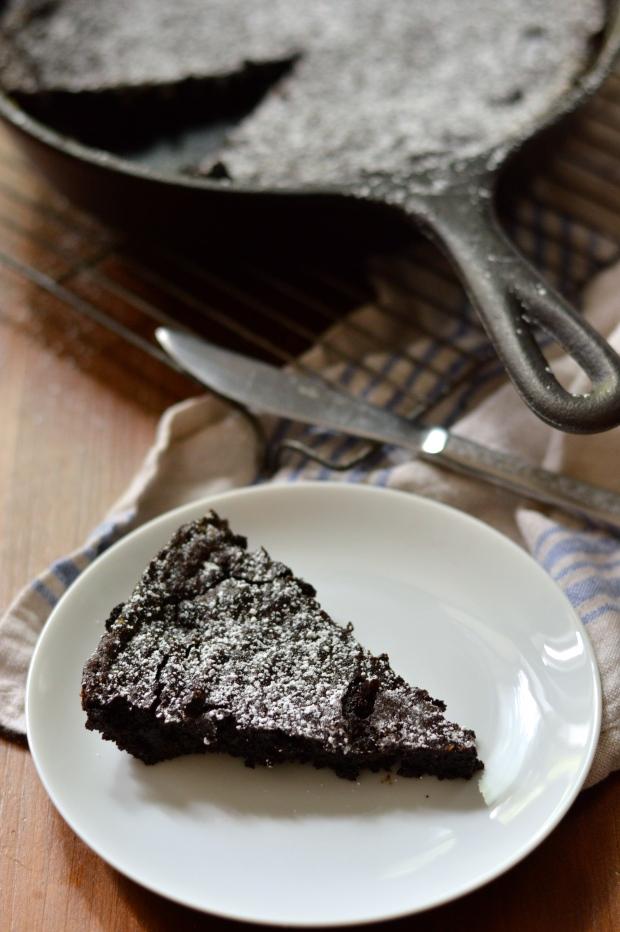 easy fudgy cocoa skillet brownies | Brooklyn Homemaker