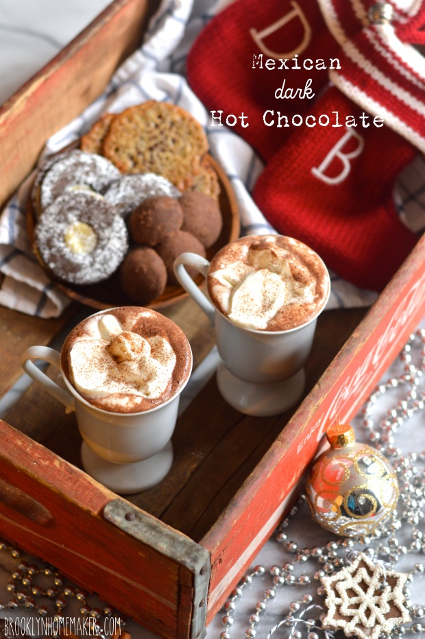 Mexican dark hot chocolate | Brooklyn Homemaker