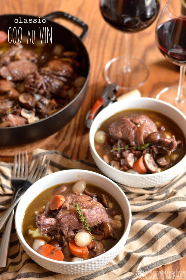 classic coq au vin | Brooklyn Homemaker