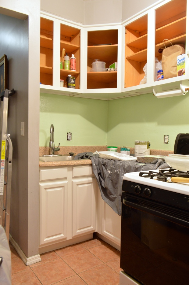 Brooklyn Homemaker ugly kitchen facelift project