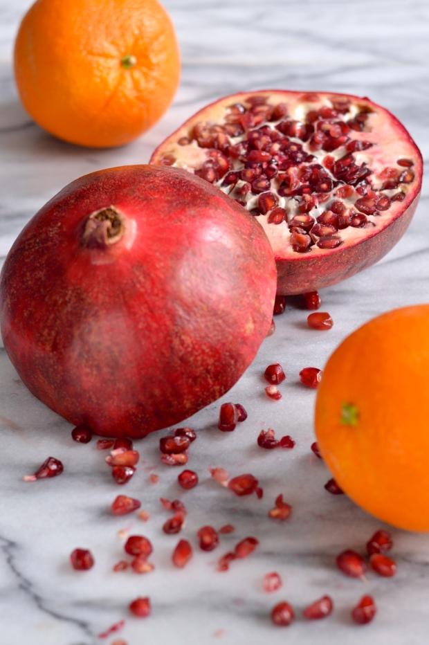 pomegranate panna cotta | Brooklyn Homemaker
