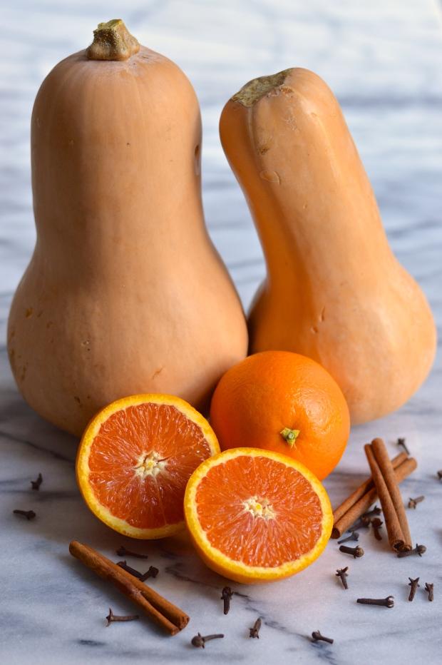 orange glazed roasted butternut squash bread | Brooklyn Homemaker