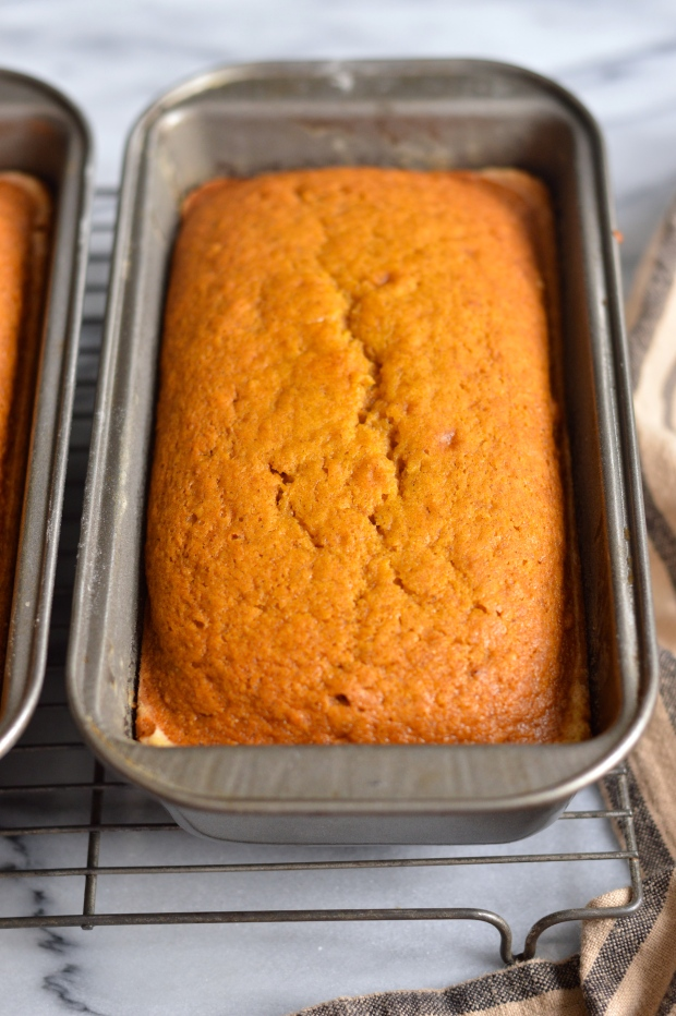 orange glazed roasted butternut squash bread | Brooklyn Homemaker