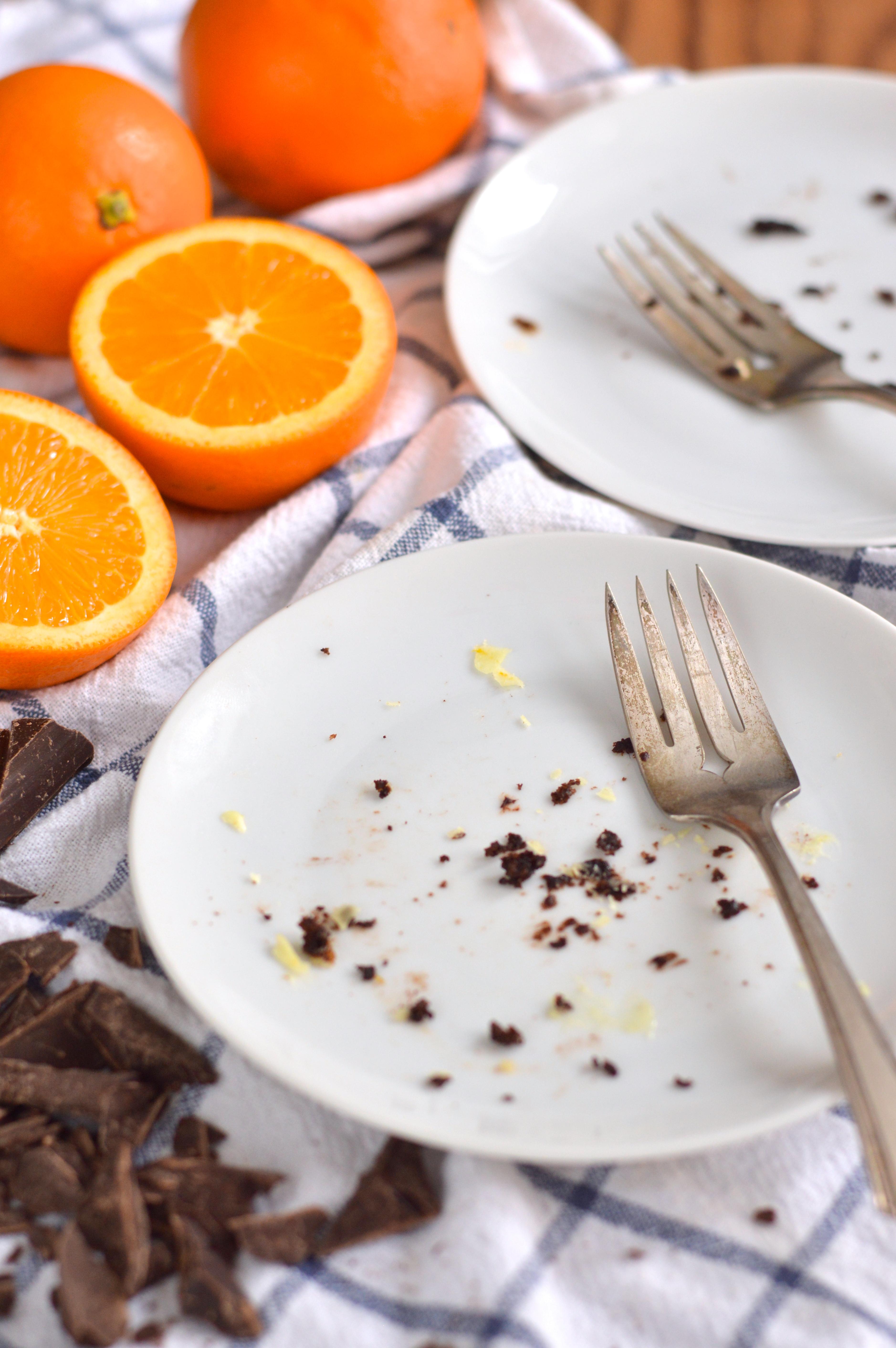 chocolate orange bundt cake #bundtbakers | Brooklyn Homemaker