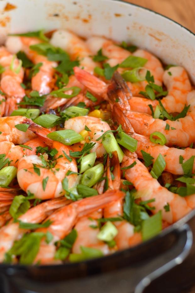 creole red jambalaya with chicken, shrimp, & andouille | Brooklyn Homemaker