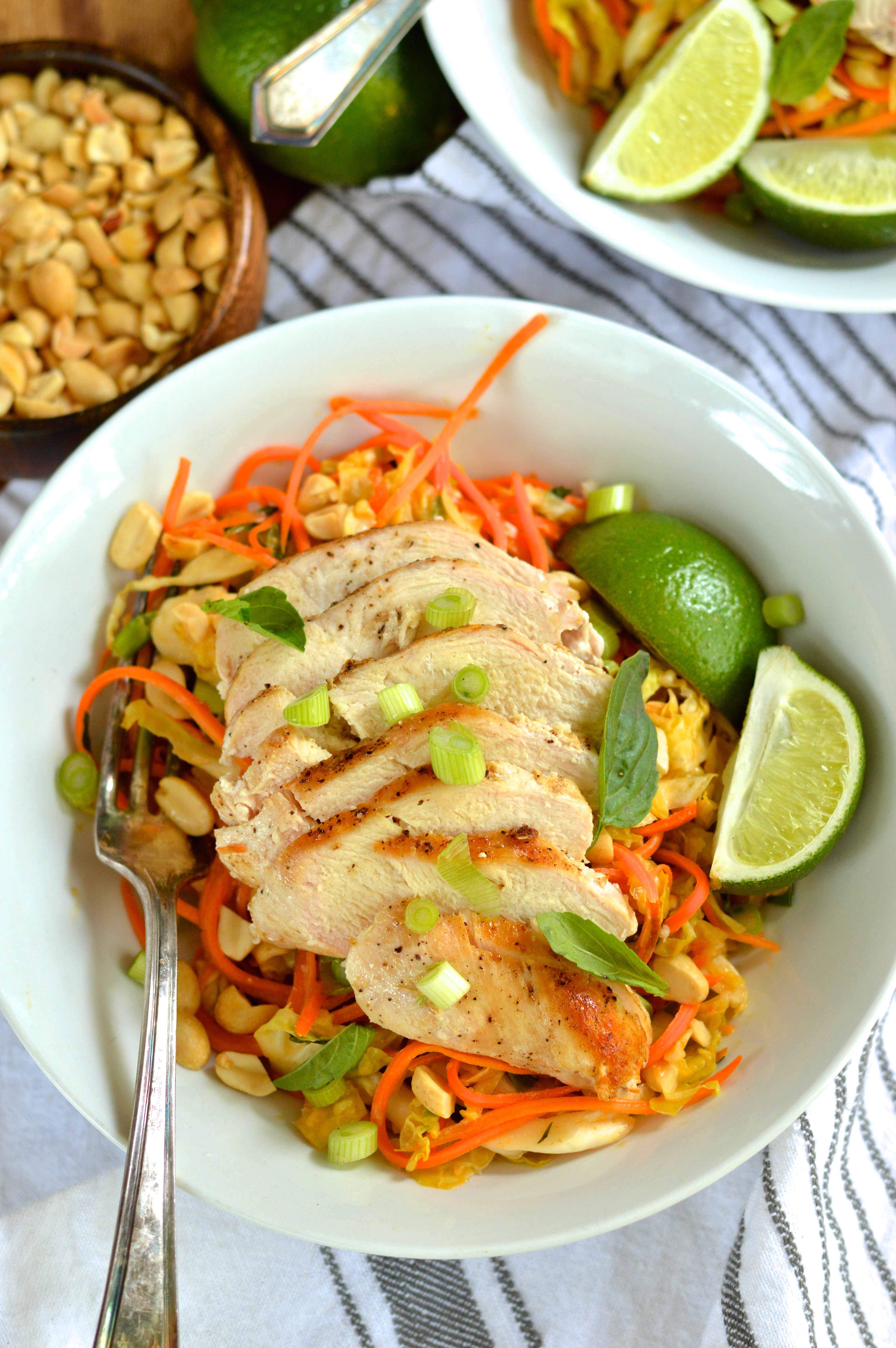 spicy peanut carrot and cabbage salad   Brooklyn Homemaker