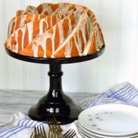 rhubarb pound cake bundt #bundtbakers