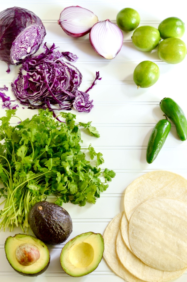 grilled chicken tacos with cilantro pesto and red cabbage slaw | Brooklyn Homemaker
