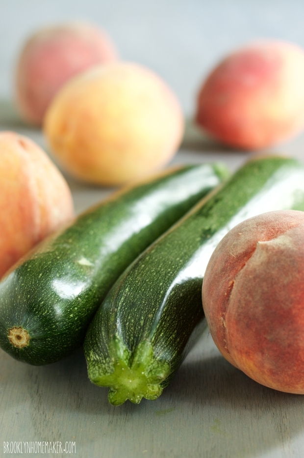 zucchini peach bread | Brooklyn Homemaker