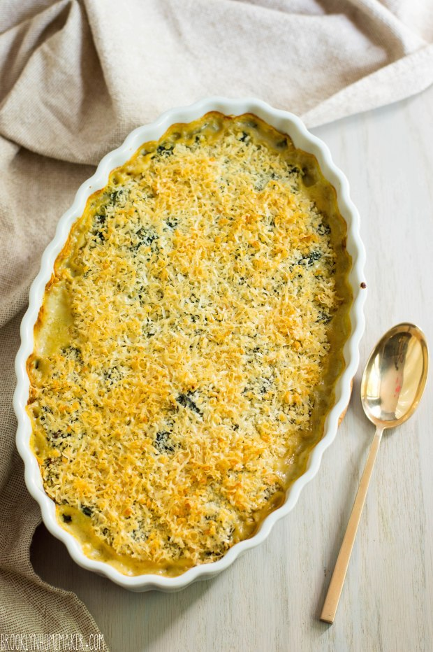 creamed kale gratin | Brooklyn Homemaker
