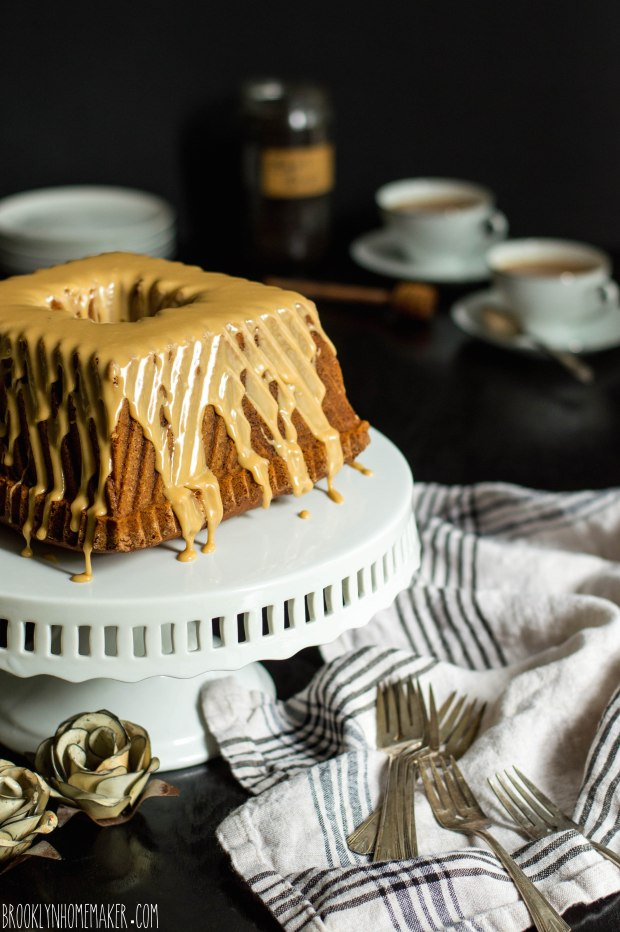 earl grey bundt cake with milk and honey glaze | Brooklyn Homemaker