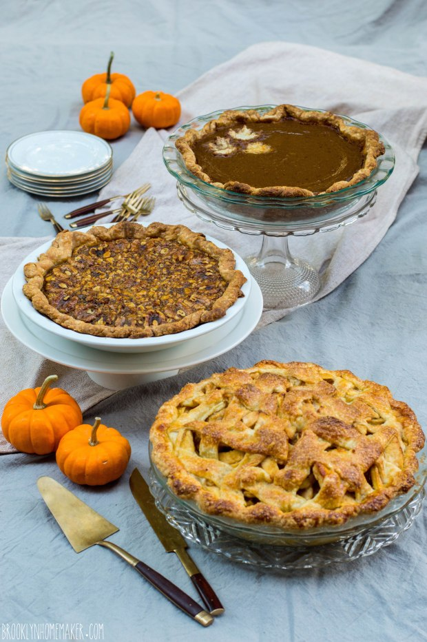Thanksgiving pies |Brooklyn Homemaker