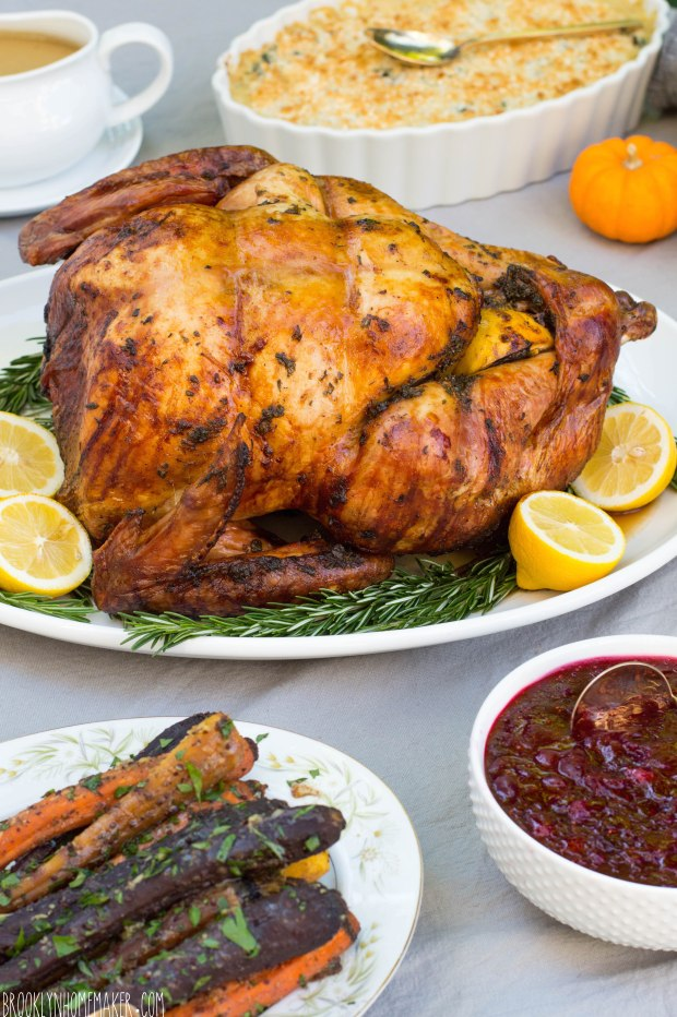 citrus herb roasted turkey | Brooklyn Homemaker