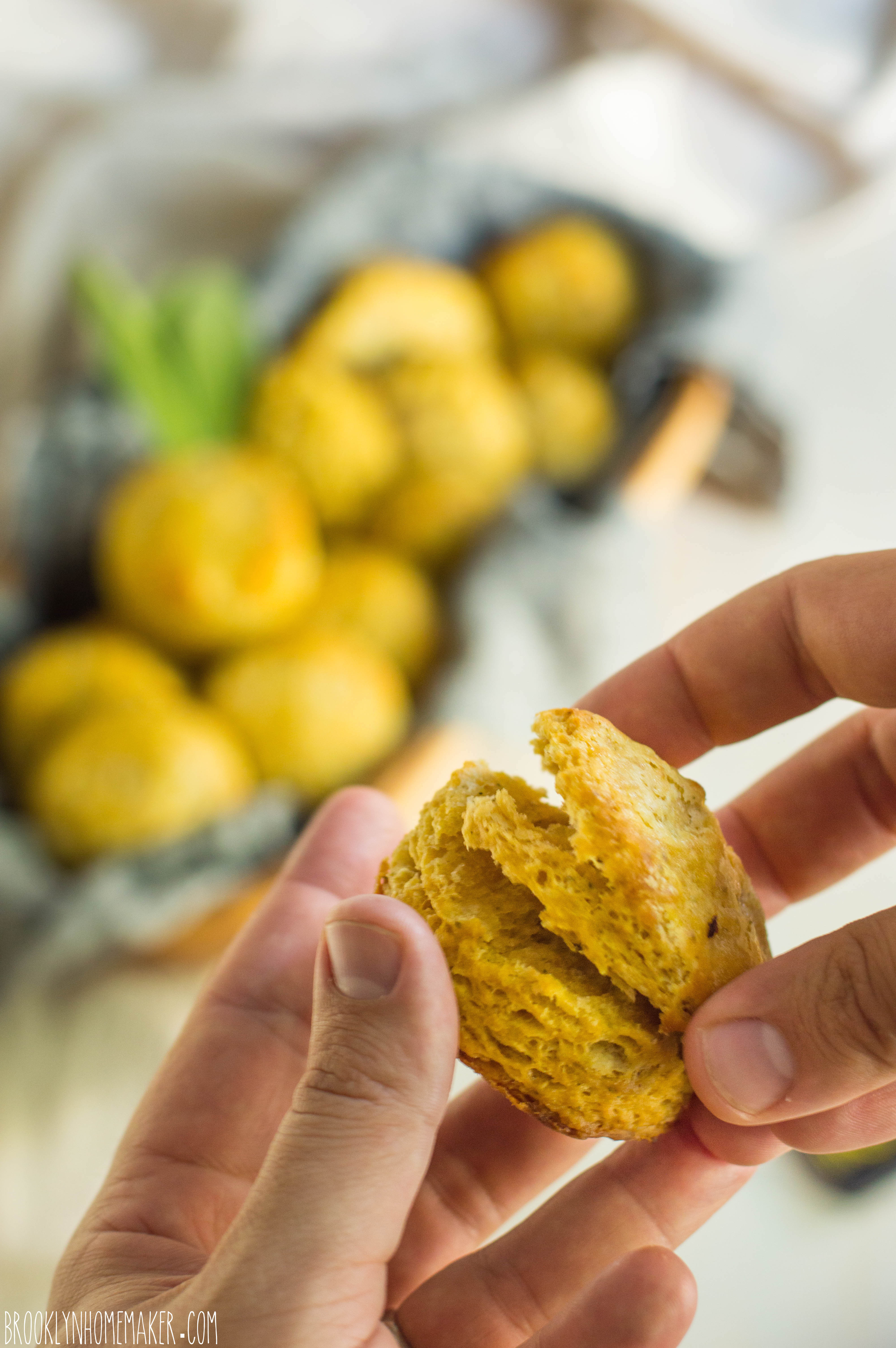 Flaky Butternut Squash Sage Biscuits Brooklyn Homemaker