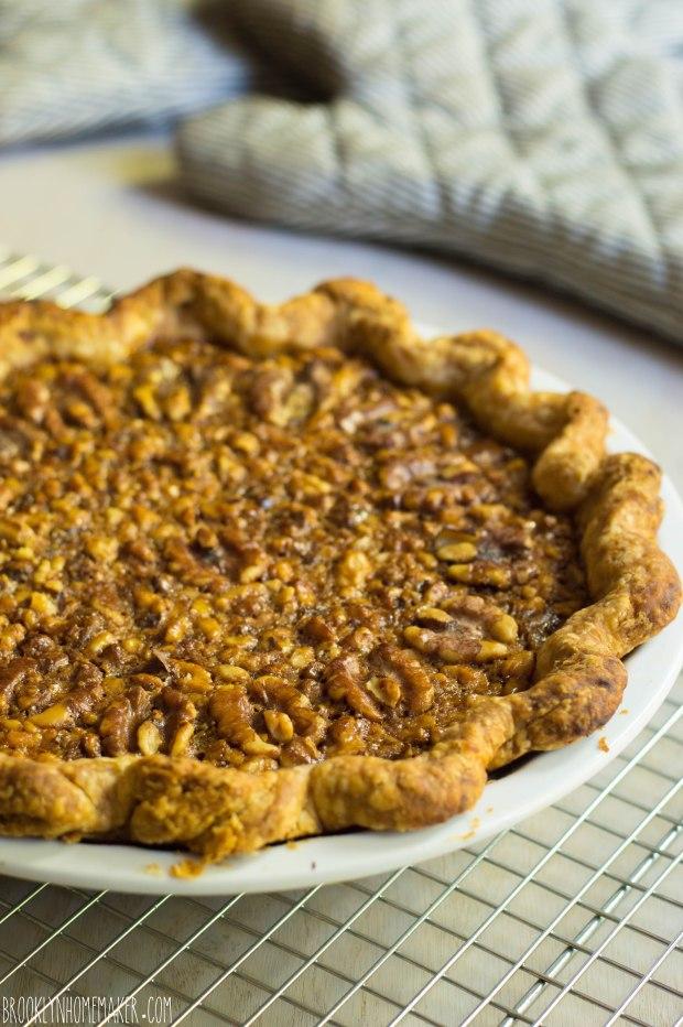 maple walnut pie | Brooklyn Homemaker
