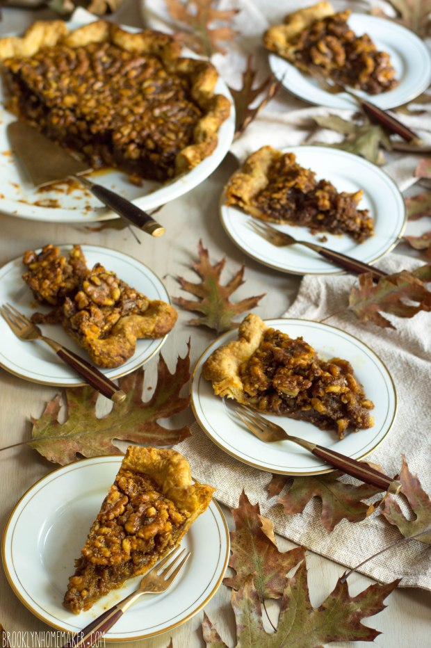 maple walnut pie | Brooklyn Homemaker