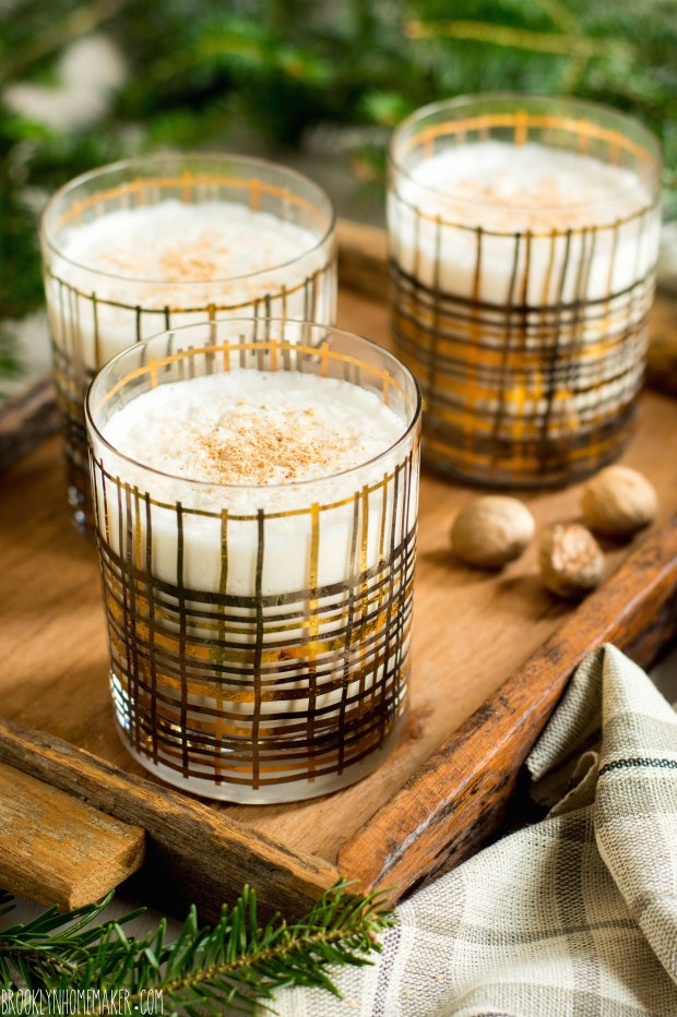 holiday milk punch | Brooklyn Homemaker