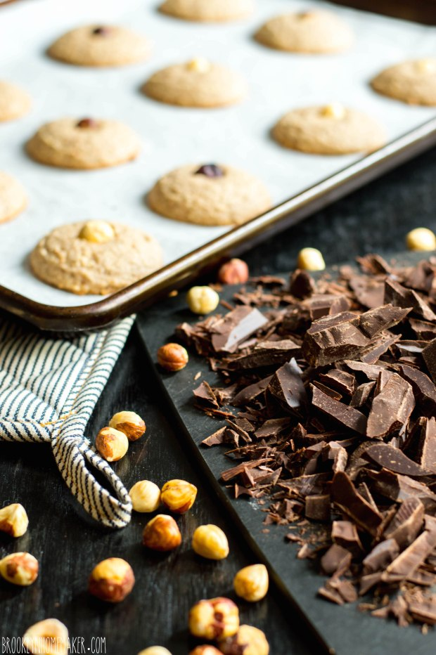 nusstaler | chocolate dipped hazelnut shortbread | Brooklyn Homemaker