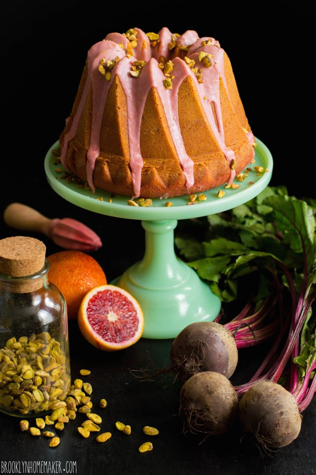 beet and blood orange bundt cake | Brooklyn Homemaker
