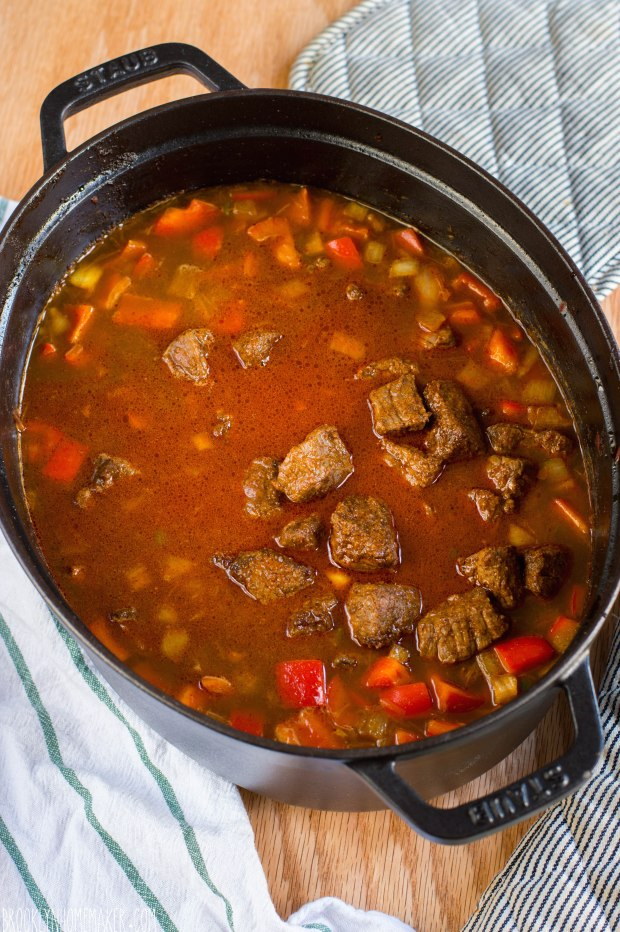 chunky beef and bean chili | Brooklyn Homemaker