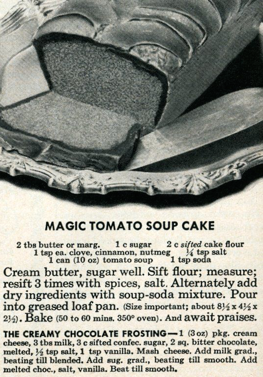 tomato soup bundt cake | Brooklyn Homemaker