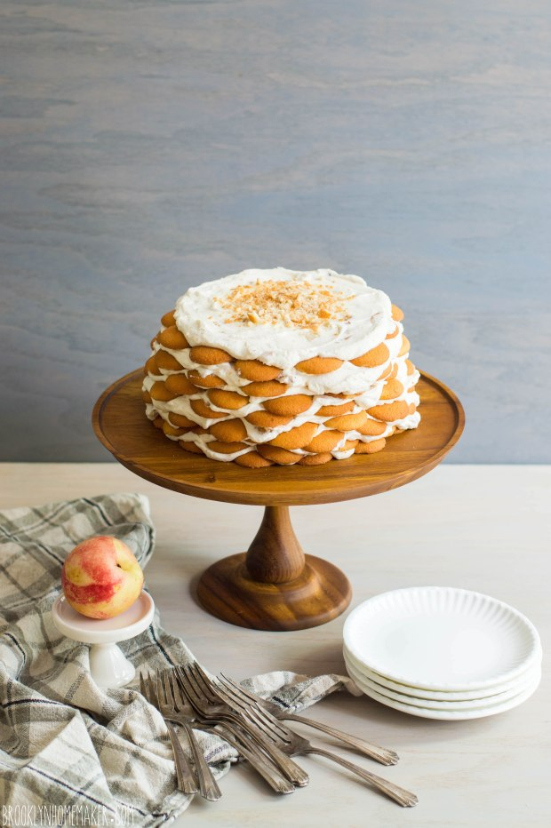 nectarines and cream icebox cake | Brooklyn Homemaker